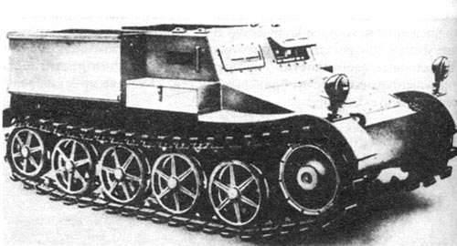 Transportador de municiones Borgward VK 302 y vehículos basados en este (Alemania).