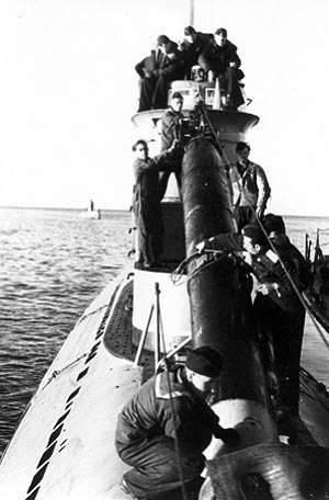 Preparazione dei sottomarini sovietici per operazioni militari negli 1950-s