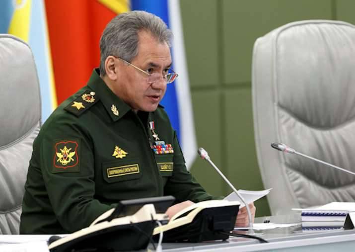 """Sergei Shoigu: """"Almirante da Frota da União Soviética, N.G. Kuznetsov """"deve estar pronto para testes até julho 1"""