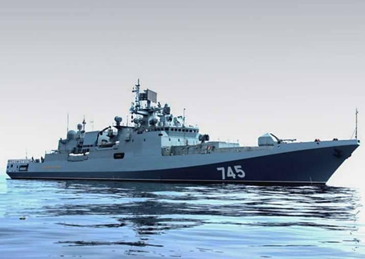 「提督Grigorovich」はSevastopolへの移行を始めました