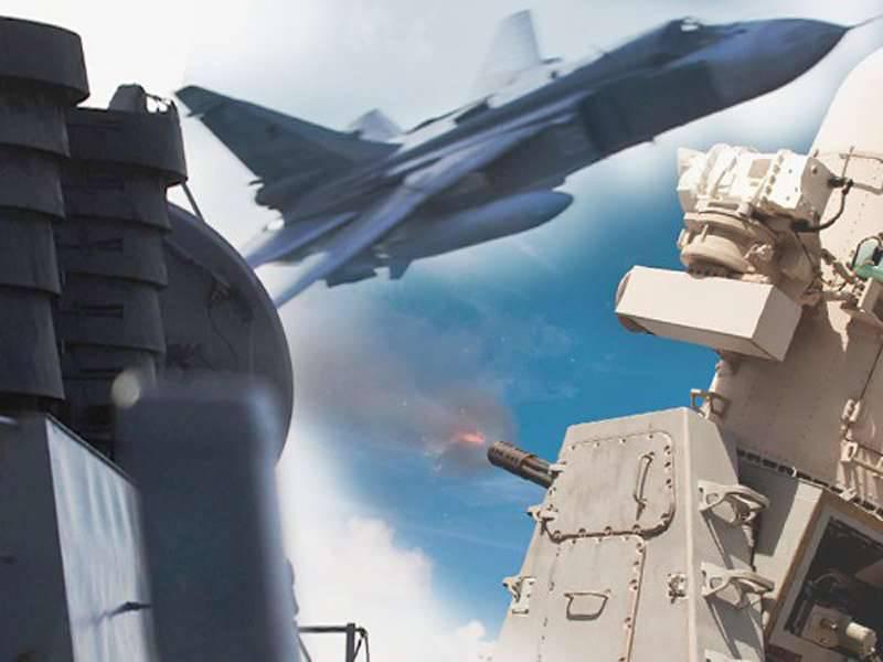 La flotta americana ha la risposta ai russi che volano vicino alle sue navi.