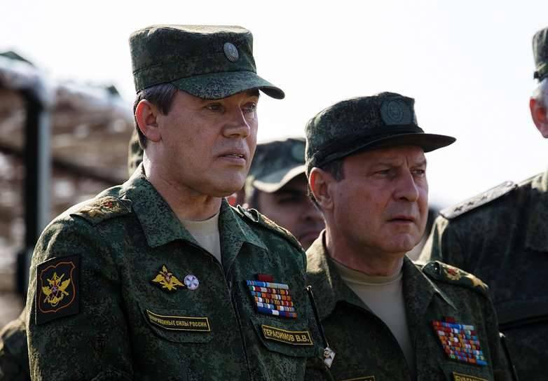 Valery Gerasimov ve Dmitry Bulgakov Rusya Kahramanları oldu