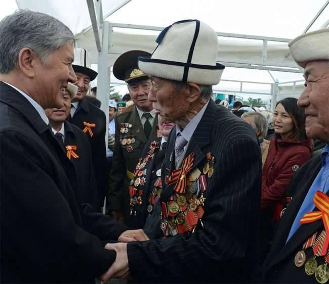 Eventos em homenagem ao aniversário 71 da Vitória, realizada nas repúblicas da Ásia Central (compilação de fotos)
