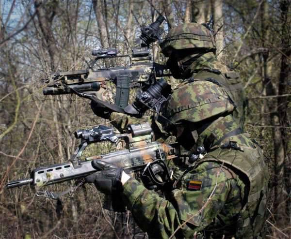 立陶宛新兵在演习期间出现新的卫生损失