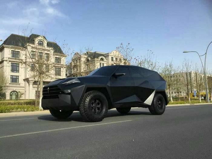 New high-speed armored car for VIP-clients presented in China
