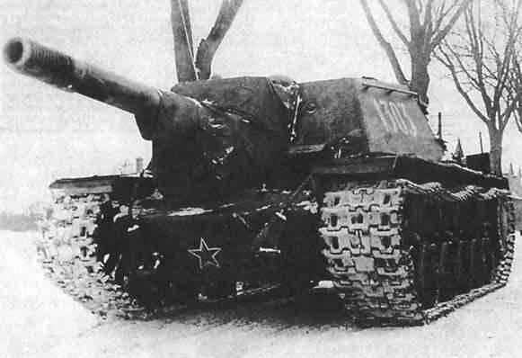 SAU soviético contra tanques alemães. Parte 2