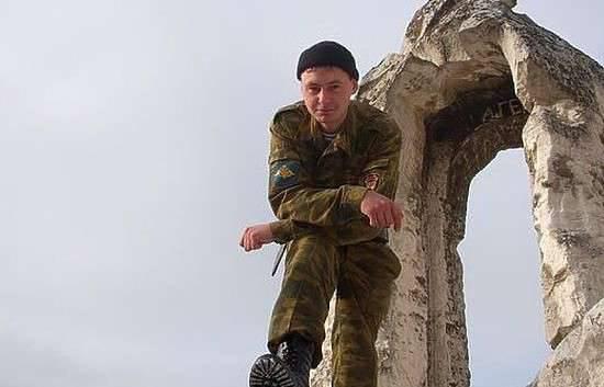 Sargento do exército russo Anton Erygin morreu de uma ferida na cabeça em Homs Governorate