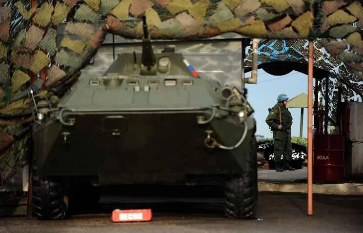 Die Ausbildung von motorisierten Schützen der russischen Truppengruppe begann in Transnistrien