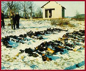Serbes tués à Gospic