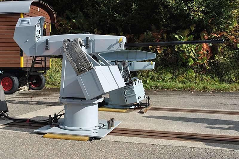 Nato da un'idea della compagnia Oerlikon: l'installazione di artiglieria Searanger 20 aumenterà la capacità di combattere le piccole imbarcazioni