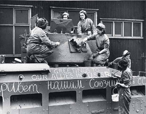 SSCB ordusunda yabancı tanklar