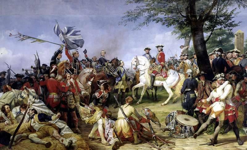 丰特努瓦之战,或法国元帅莫里茨撒克逊人的冒险和胜利