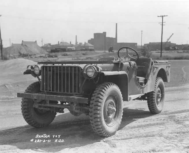 """""""Bow"""": the first Jeep Lend-Lease"""