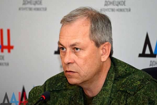 VGTRKの乗組員は、Yasinovatskoy交差点の地域でウクライナの治安部隊から火事に出ました