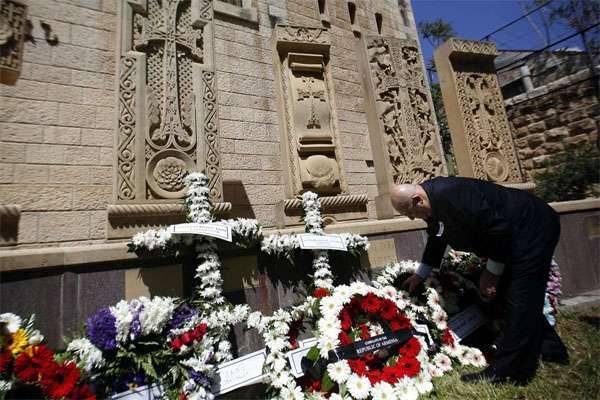 媒体:德国议会打算考虑承认亚美尼亚种族灭绝