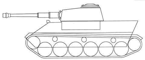 Il progetto di un serbatoio medio Krupp VK 2801 (Germania)