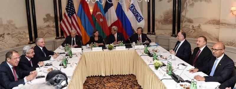 Sırp Sarkisyan ve Viyana'daki İlham Aliyev, Dağlık Karabağ'daki çatışmayı azaltmak için tedbirlerin uygulanmasına devam etmeye karar verdiler.
