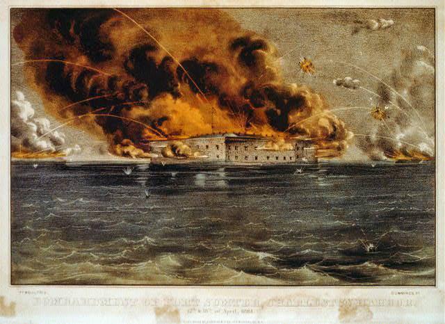फोर्ट सम्टर: एक बहुत ही संदिग्ध कहानी