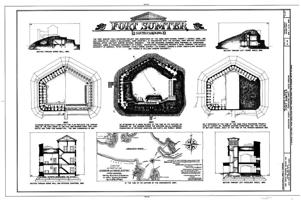Форт Самтер: очень сомнительная история