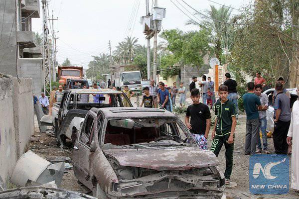 """Uma nova série de ataques terroristas em Bagdá custou 75 vidas. Por que eles não aparecem na Europa com cartazes """"Eu sou Bagdá""""?"""