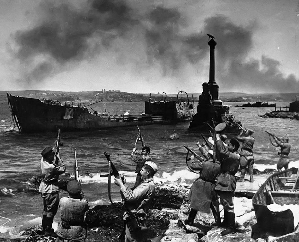 взятие Севастополя 9 мая 1944 год