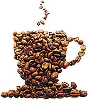 前面的咖啡