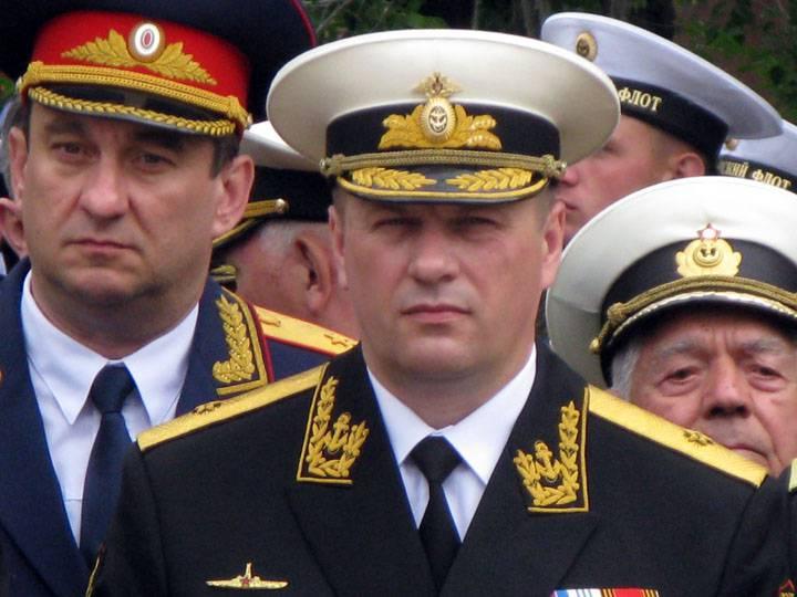 海军少将Viktor Liina被任命为黑海舰队参谋长