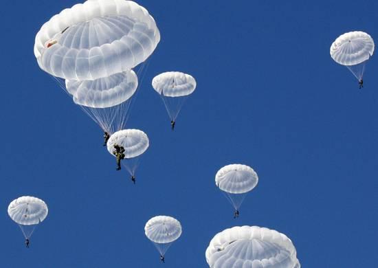 Rus paraşütçüler Vitebsk'te (Belarus) özel kuvvetler yarışmasına katıldı