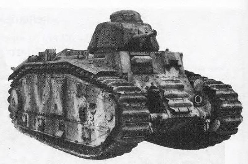 Pz.Kpfw에있는 무거운 화염 탱크 불꽃. B2 (f), 독일