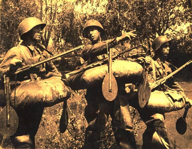 Cómo superar las barreras explosivas de la mina alemana durante la guerra.