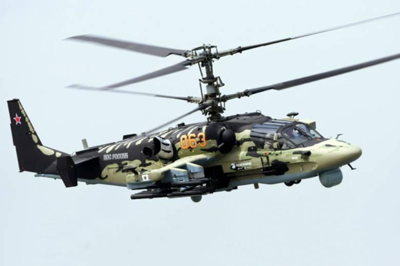 ロシアはKa-52を外国の顧客に納品します