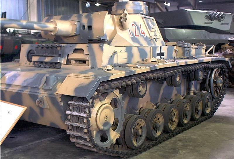Tanque lanzallamas Pz.Kpfw.III (Fl), Alemania