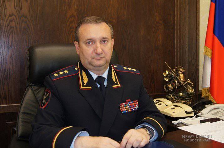 Sergey Chenchik nommé à la tête du quartier général principal des troupes des Rosguards