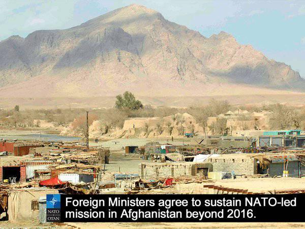 斯托尔滕贝格:北约将在2016之后延长阿富汗任务的任务期限