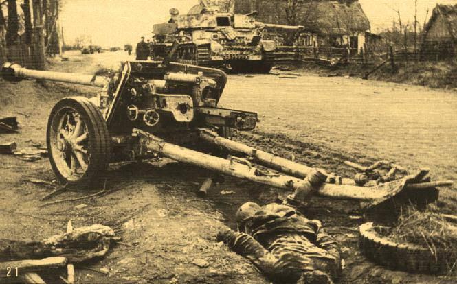 La mise au point de moyens de lutter contre les armes antichars ennemies pendant la guerre