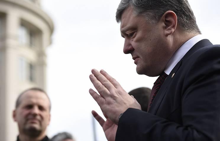 "Poroshenko: ""我々は野蛮と暴政からヨーロッパを守る"""