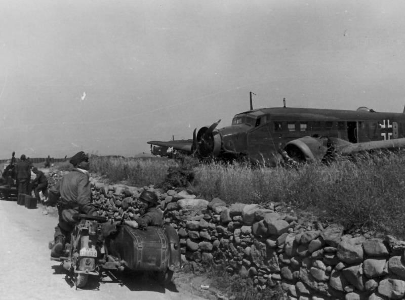 Как немецкие парашютисты штурмовали Крит