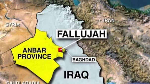 L'esercito iracheno ha lanciato un'operazione per liberare Falluja dai militanti dell'ISIS