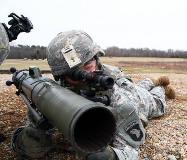 M-3-Granatwerfer im Einsatz bei der amerikanischen Armee