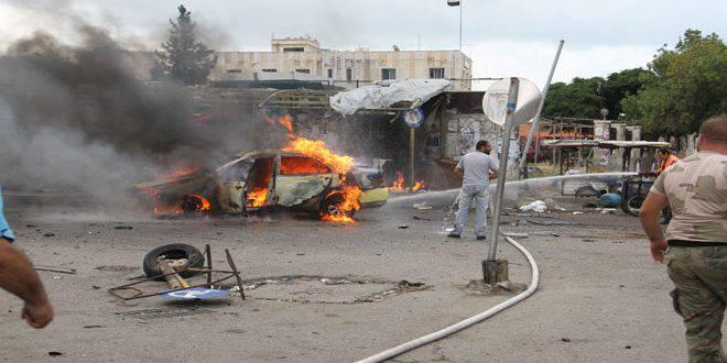 Una serie de ataques terroristas en Tartus y Jable (Siria)