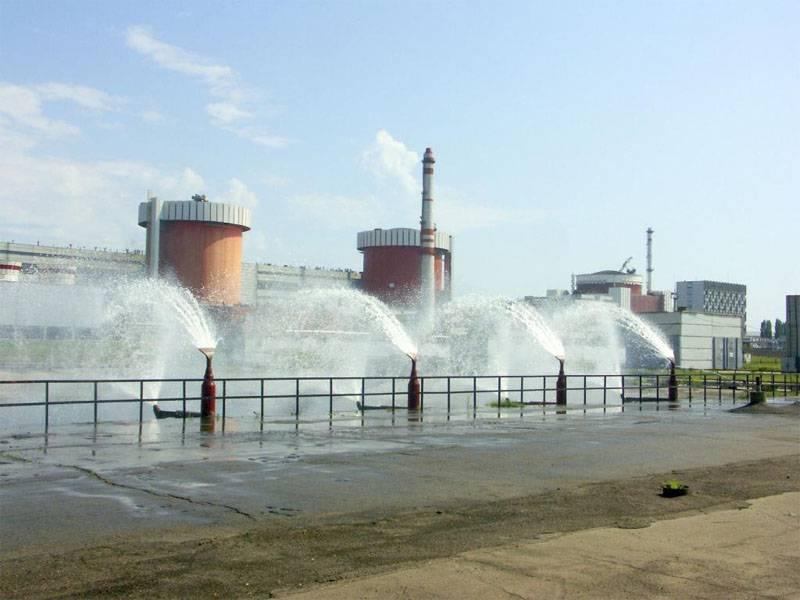 En la tercera unidad de potencia de la central nuclear del sur de Ucrania, la carga de elementos combustibles de la empresa estadounidense Westinghouse