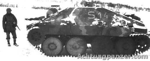 Canhão automotor lança-chamas Flammpanzer 38 (t), Alemanha