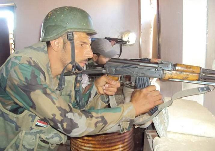 Las fuerzas de seguridad sirias tomaron a los militantes vivos que estaban preparando una serie de ataques terroristas en la provincia de Damasco.