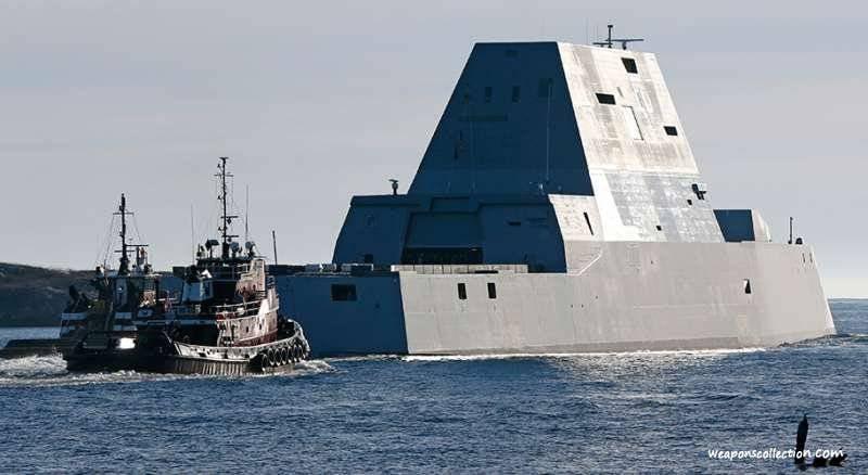 Destroyer Zumwalt transféré à l'US Navy
