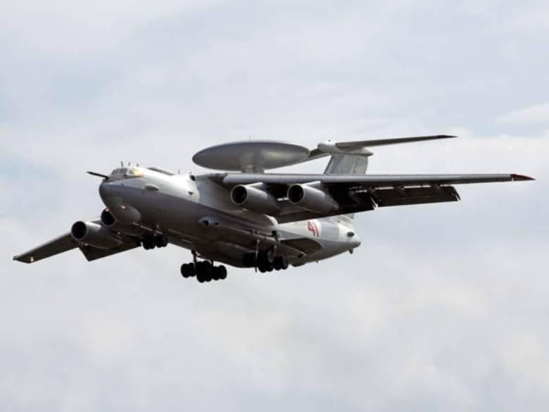 러시아 국방부는 항공기 A-50U