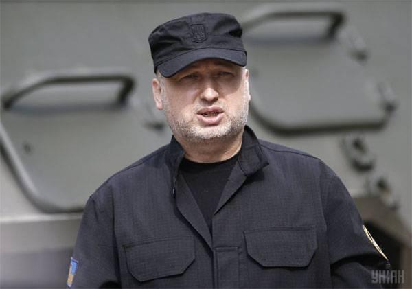 """Déclenchement d'une guerre civile en Ukraine A. Turchinov a déclaré que la Russie """"se prépare à intensifier le conflit armé dans le Donbass"""""""