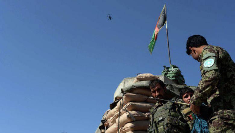 지난 날 아프가니스탄에서 파괴 된 50 테러리스트 이상
