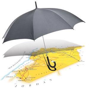 シリアの傘