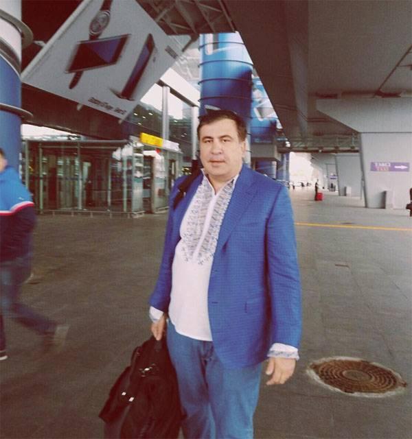 Saakaşvili, Gürcistan'a geri dönmek istediğini söyledi