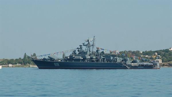 Le chien de garde de la flotte de la mer Noire de Pytlivy s'est rendu en mer Méditerranée